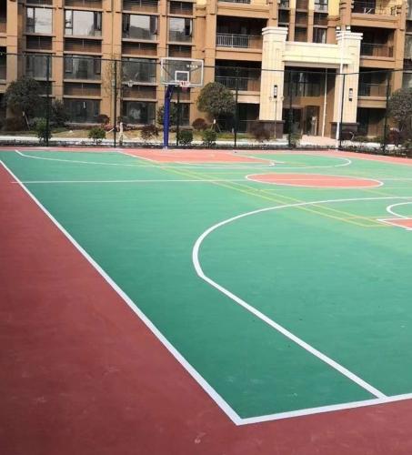分享EPDM塑胶篮球场的日常维护及保养方法