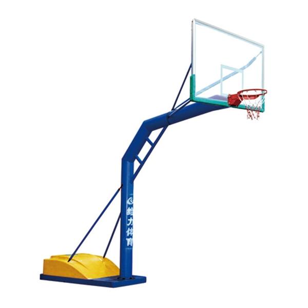 泸州GLA-021玻璃钢盖可移动篮球架
