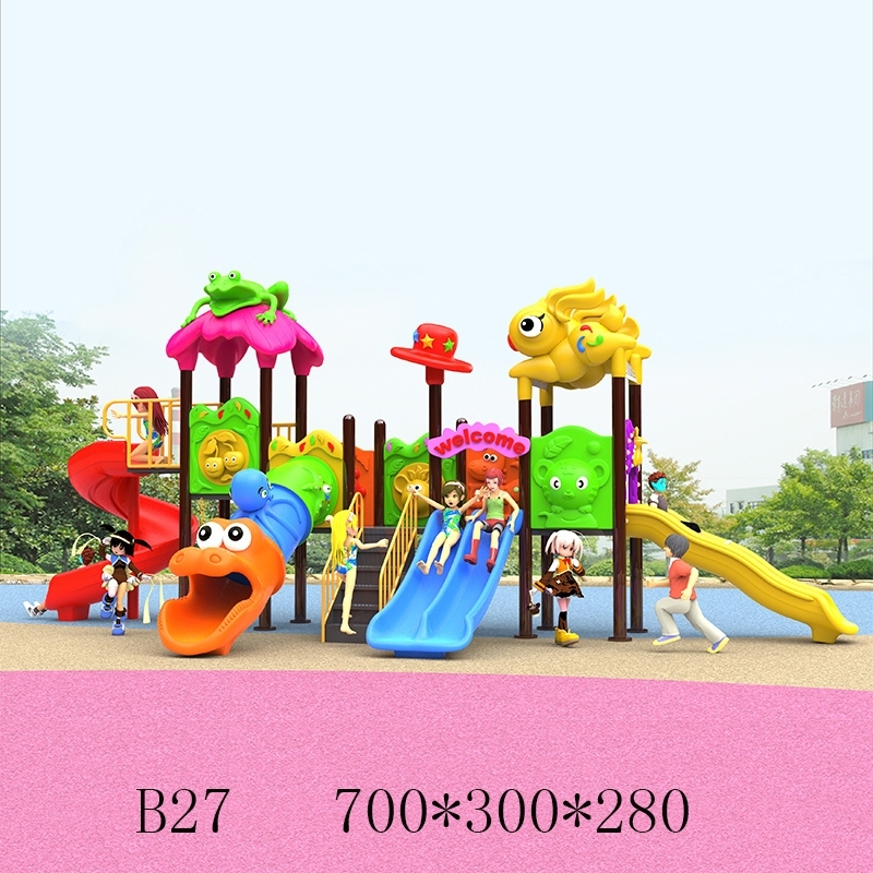 76圆管儿童滑梯B27