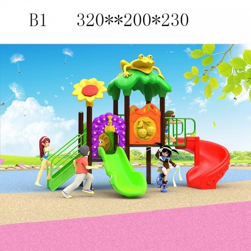 76圆管儿童滑梯 B1