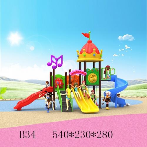 76圆管儿童滑梯 B34